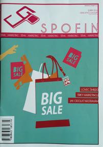 Obálka soutěžního časopisu SPOFIN
