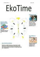 Titulní strana soutěžního časopisu EkoTime 2016