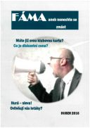 Titulní strana soutěžního časopisu FÁMA