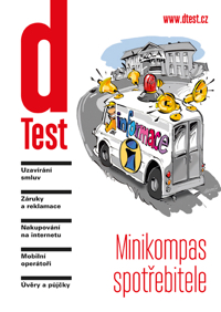 Titulní strana brožury Minikompas spotřebitele