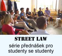 StreetLaw přednášky pro studenty středních škol