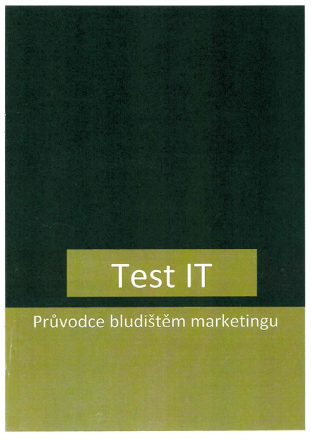 Titulní strana soutěžního časopisu Test IT 2016