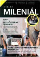 Titulní strana soutěžního časopisu MAGAZÍN MILENIÁL